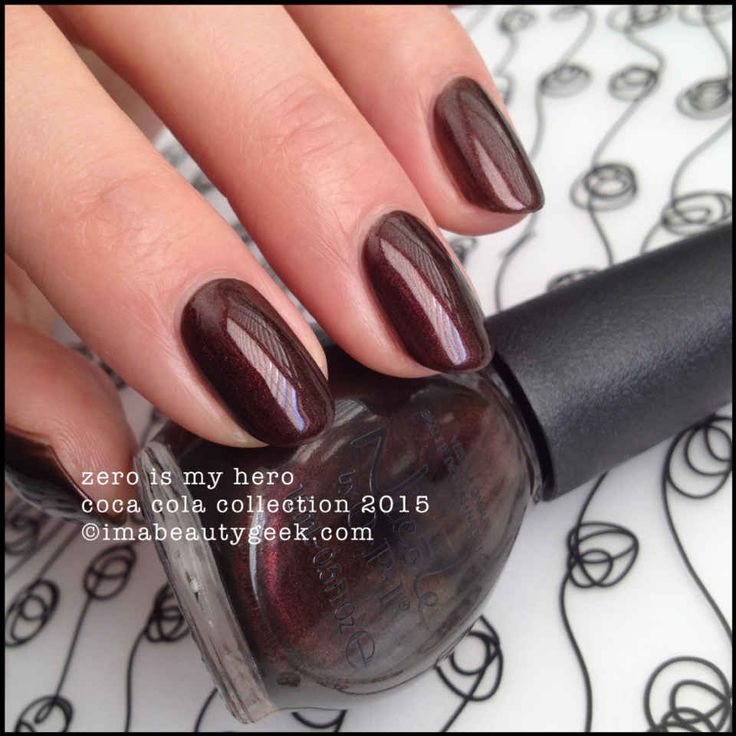 Nicole by OPI - Zero is My Hero - Coca Cola Collection 2015