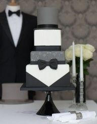 groom cake! How classy and nice looking is this!