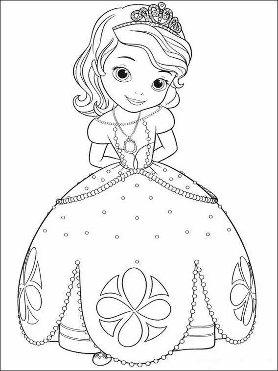 Dibujos Faciles Para Dibujar Princesa Sofia 6 Canvas
