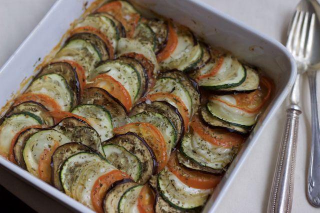 Ratatouille ao forno | Blog da Leili
