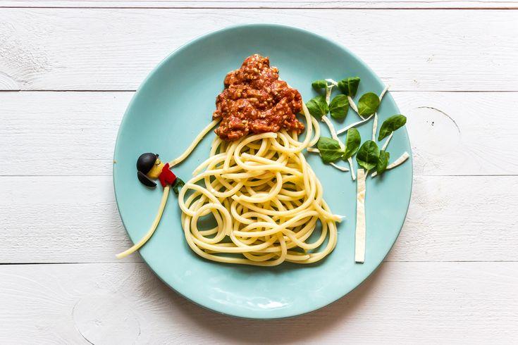 Szybkie vege spaghetti dla dzieci i dorosłych