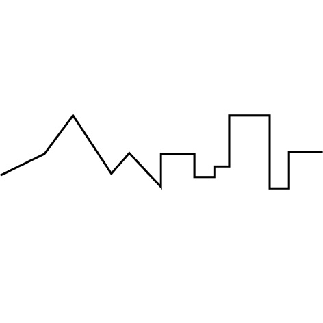 Mountain and city