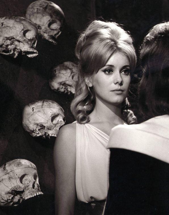 Catherine Deneuve in Vice and Virtue (1963, dir. Roger Vadim) strange ...