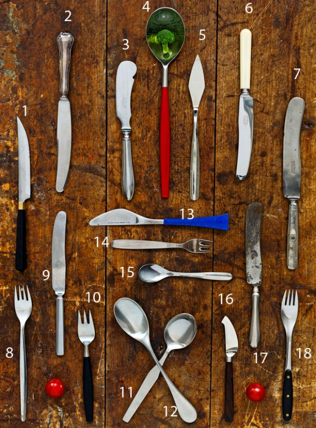 Cutlery from Finnish top designers, for Hackman.