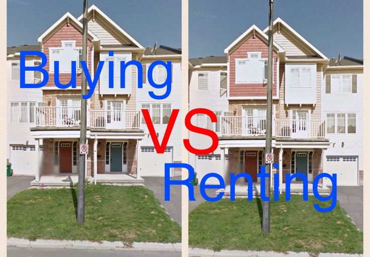 BUYING VS. RENTING A HOME - MY TAKE ON THE TOPIC