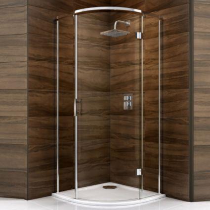 Cooke & Lewis Cascata Quadrant Shower Enclosure (W)900mm (D)900mm: Image 1
