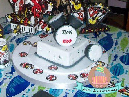 bateria cake