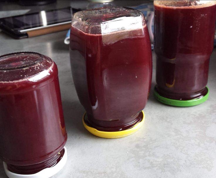 Rezept Traubengelee / Traubenmarmelade von Felicie1 - Rezept der Kategorie Saucen/Dips/Brotaufstriche