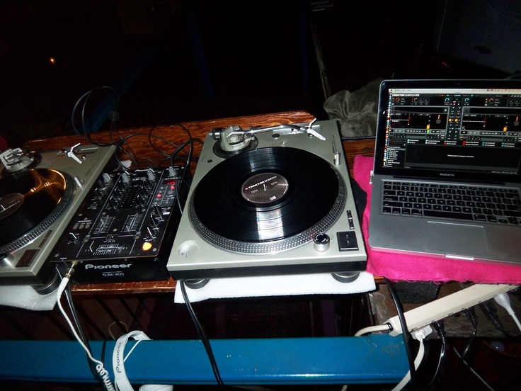 Wheels of Steel, Pioneer mixer and Traktor pro.