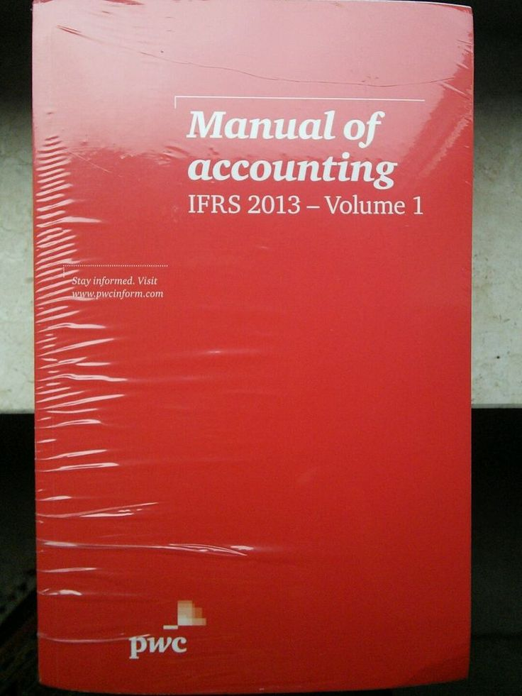 IFRS 2013 Manual of accounting Neu 142 EUR