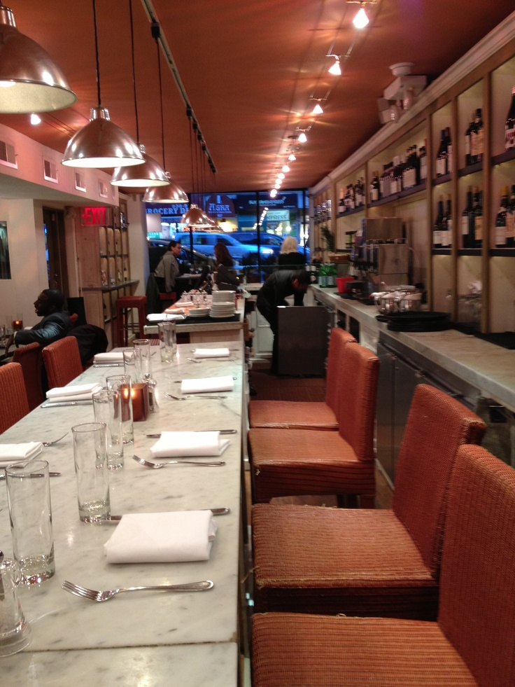 Fig & Olive Restaurant in NYC.  Good Food