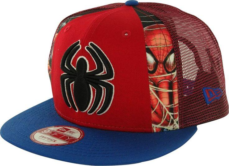 dafa7020fe836b ... spain jordan hats champs sports brackets spiderman dye slice mesh  9fifty hat 50105 7cc38 ...
