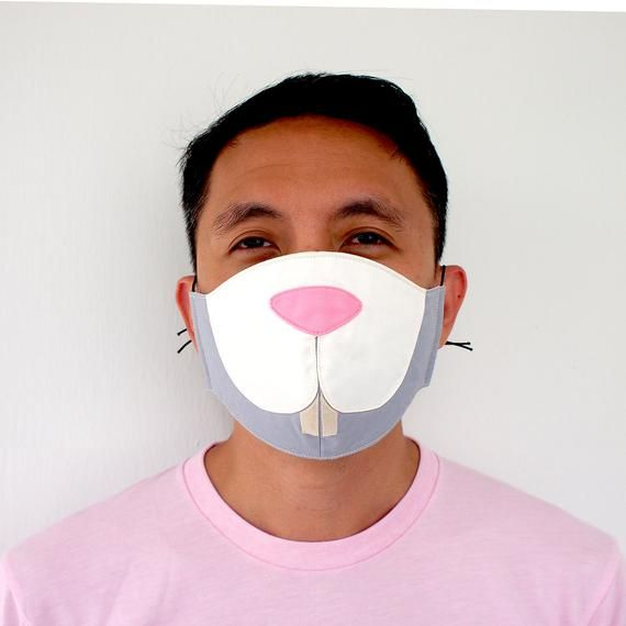 Bunny Mouth Mask Rabbit Nose Mask Cute Mouth Cover Anti Dust