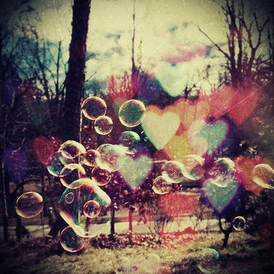 Pretty: Bubbles Heart, Vintage Photography, Love Is, Valentines Day, Love Heart, Heart Bubbles, Vintage Love, Pretty Pictures, Vintage Style