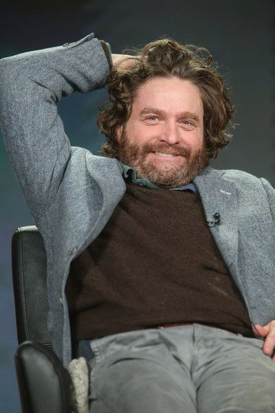 Zach Galifianakis speaks at the 2016 Winter TCA Tour.