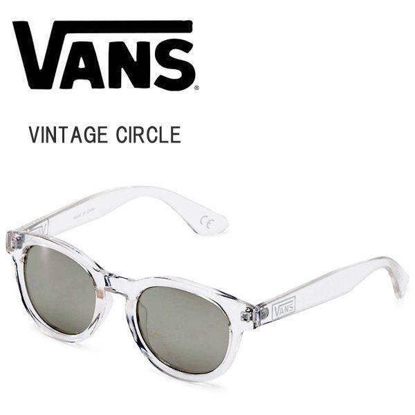 【楽天市場】VANS バンズ サングラス VINTAGE CIRCLE ヴィンテージ サークル メガネ 眼鏡  メンズ レディース 男女兼用 UVカット 透明フレーム【VN-007FCLR】(Clear:クリアー):THE ITAYA OUTLOW SERVICE