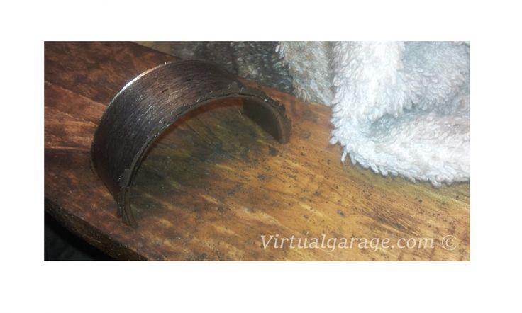 Broken conrod bearing E36 M3 S50B32