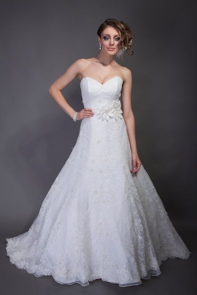 Angel Rivera - Eva. Available at Bridal Reflections.