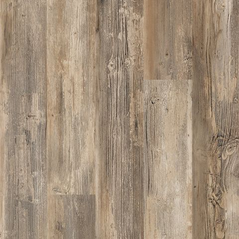Newport Pine handscraped laminate floor. Medium pine wood finish, 12mm 1-strip plank laminate flooring, easy to install and covered by PERGO's lifetime warranty.