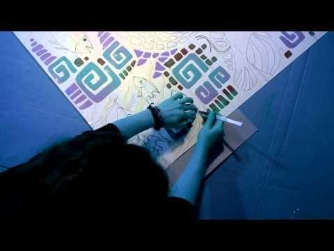 Piesocne duny - Pieskové Obrazy - YouTube   video about this art