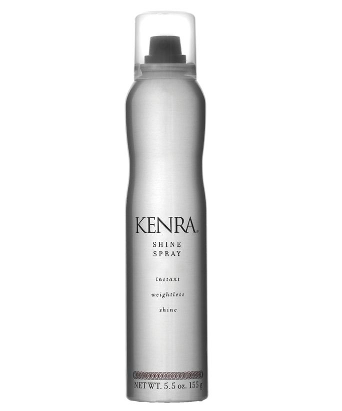 Perfect Shine Sprays for Fine, Wavy and Curly Hair - Best for Fine Hair: Kenra Professional Shine Spray from InStyle.com