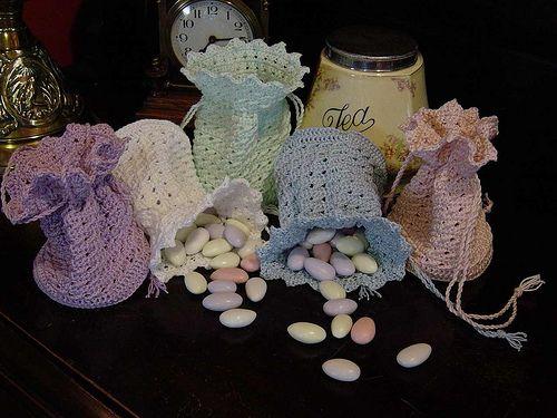 Ravelry: Victoria Crochet Drawstring Purse pattern by Penny Peberdy