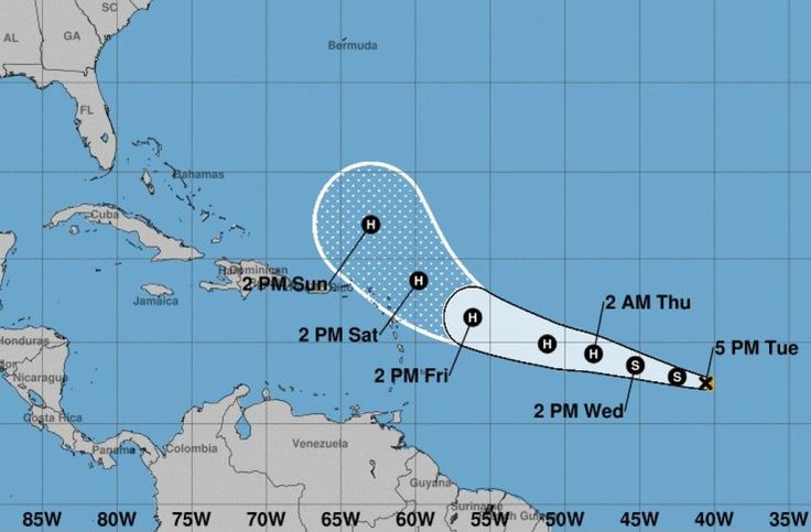 Another potential hurricane is gaining strength over the Atlantic Ocean