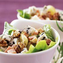 Recette Salade paysanne (facile) : Francine, recette de Salade paysanne pour 4