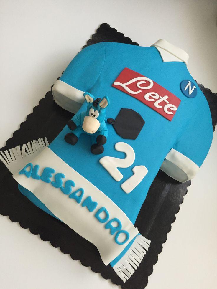 Torta calcio Napoli