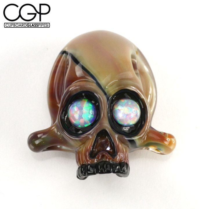 Most Sought After Antiques: Opal Eyed Skull Pendant. These Are Among The Most