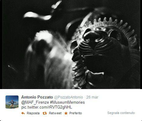 La #museumweek del Museo Archeologico Nazionale di Firenze La Chimera è stata protagonista di molti, moltissimi tweet durante la #museumweek