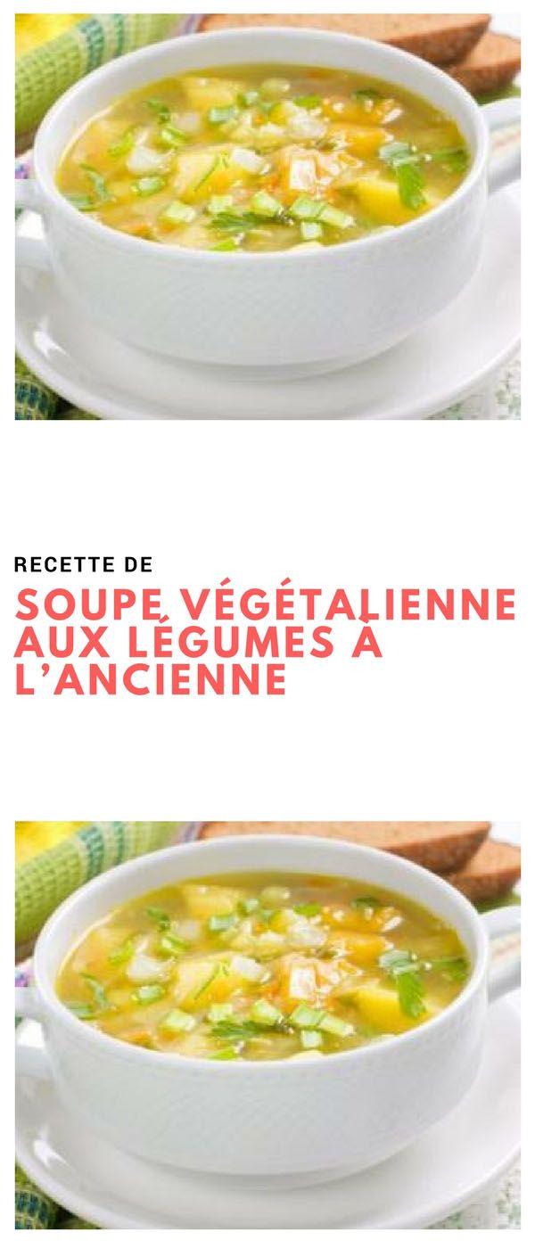 #soupe #végétalien #légumes