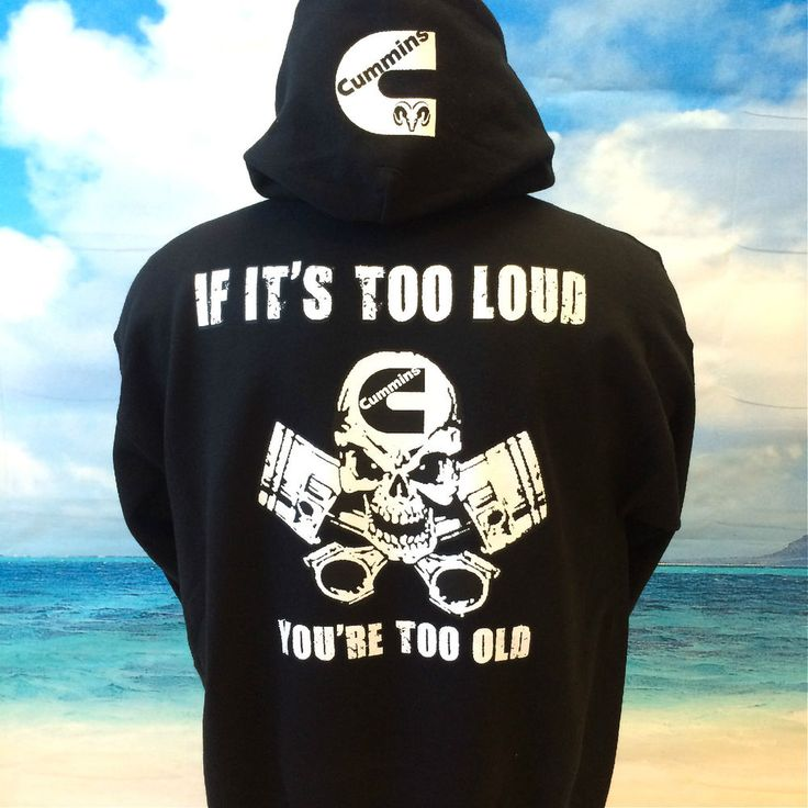 Cummins DIESEL Hoodie Pullover SWEATSHIRT Dodge DIESEL NEW CUMMINS POWER HOODIE in Clothing, Shoes & Accessories | eBay