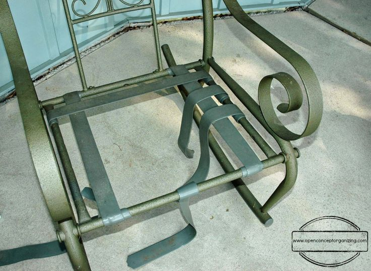 How To Repair Vinyl Strap Patio Chairs