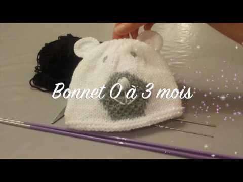 Bonnet Ours Bébé - YouTube