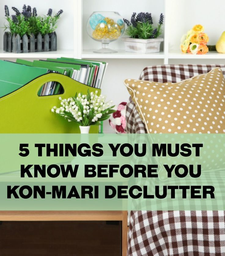 5 Things You Absolutely Must Know Before You Kon-Mari Declutter Your House - If you've considered (or started) the Kon-Mari decluttering method READ THIS FIRST. Must-know helpful tips for the process. Wish I'd have read this first!