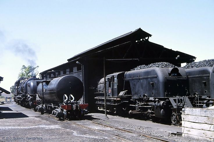 old railroad trains of south africa in photos | old STEAM LOCOMOTIVES in South Africa: Graaff Reinet, Railway Station ...