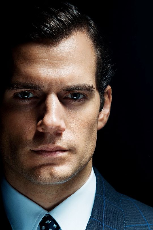 Henry really looks like Clark Kent in this photo, even though I know this is a still from a different movie!