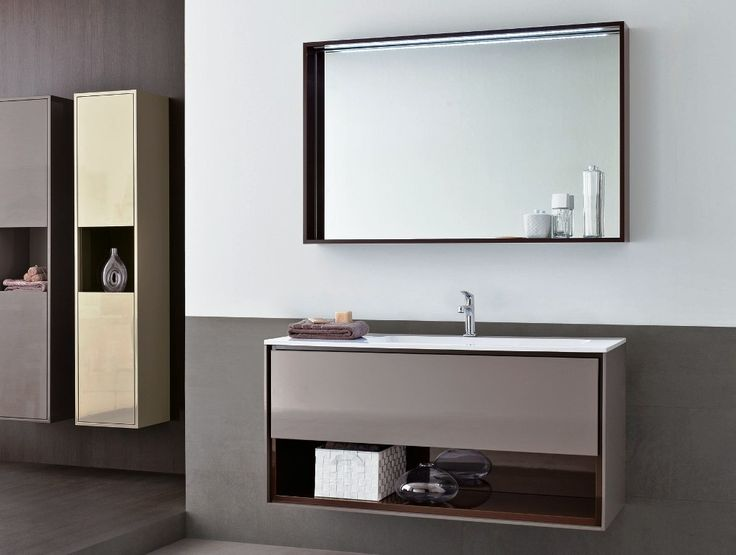 25 Modern Bathroom Mirror Designs: 25+ Best Ideas About Floating Bathroom Vanities On
