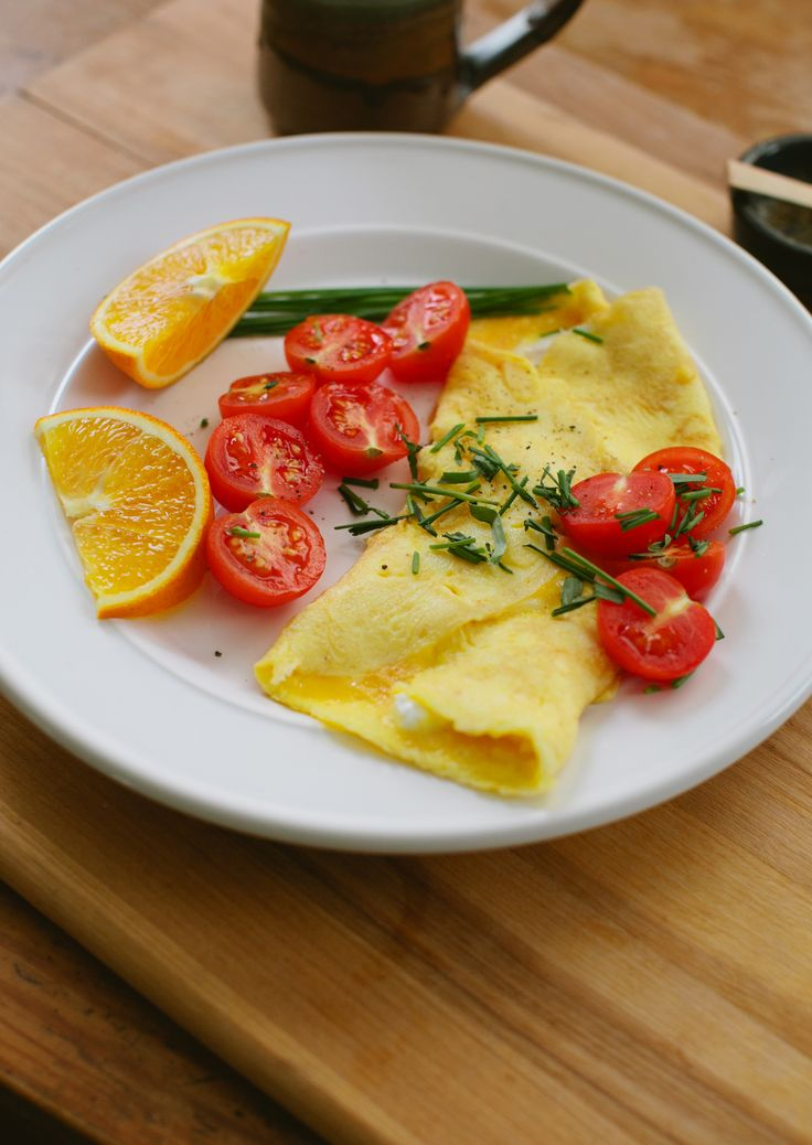 Omelet with Chèvre and Fines Herbs | Cheese, Thoughts and ...