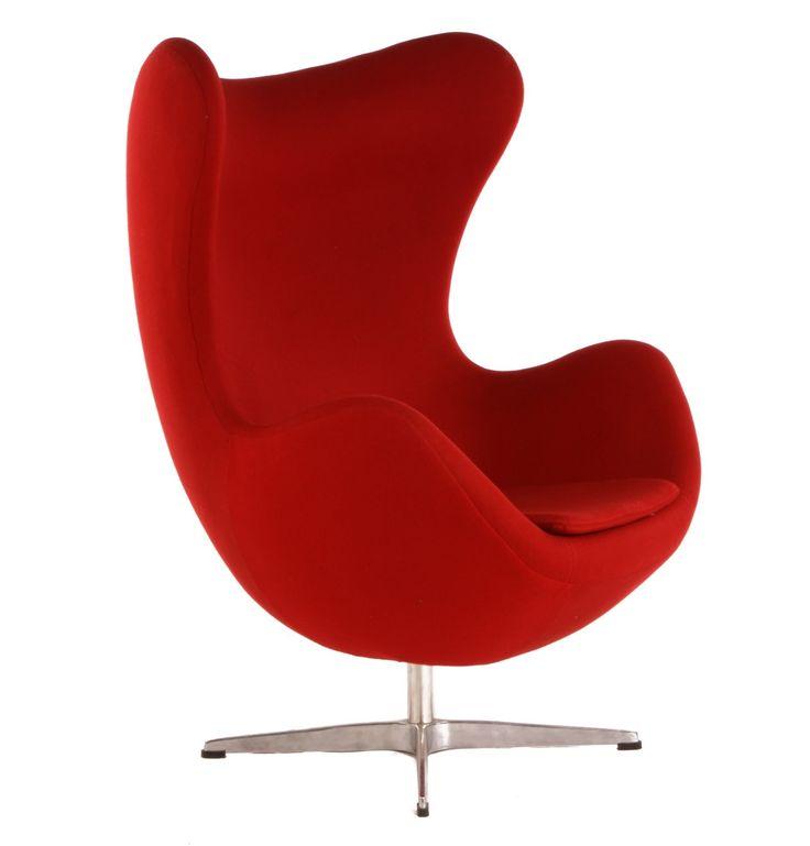 Replica Arne Jacobsen Egg Chair by Arne Jacobsen - Matt Blatt