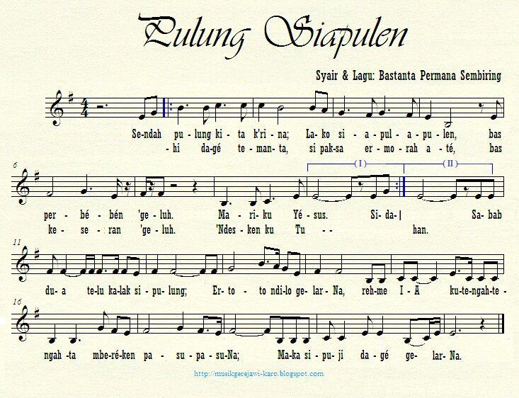Pulung Siapulen (Bastanta P. Sembiring, 2013)