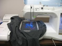 Tips for embroidering on t-shirts.  SO NEED THIS!!