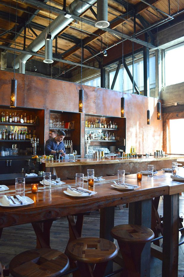 Duende Restaurant & Bodega | San Francisco, CA - Awesome looking bar and communal table.