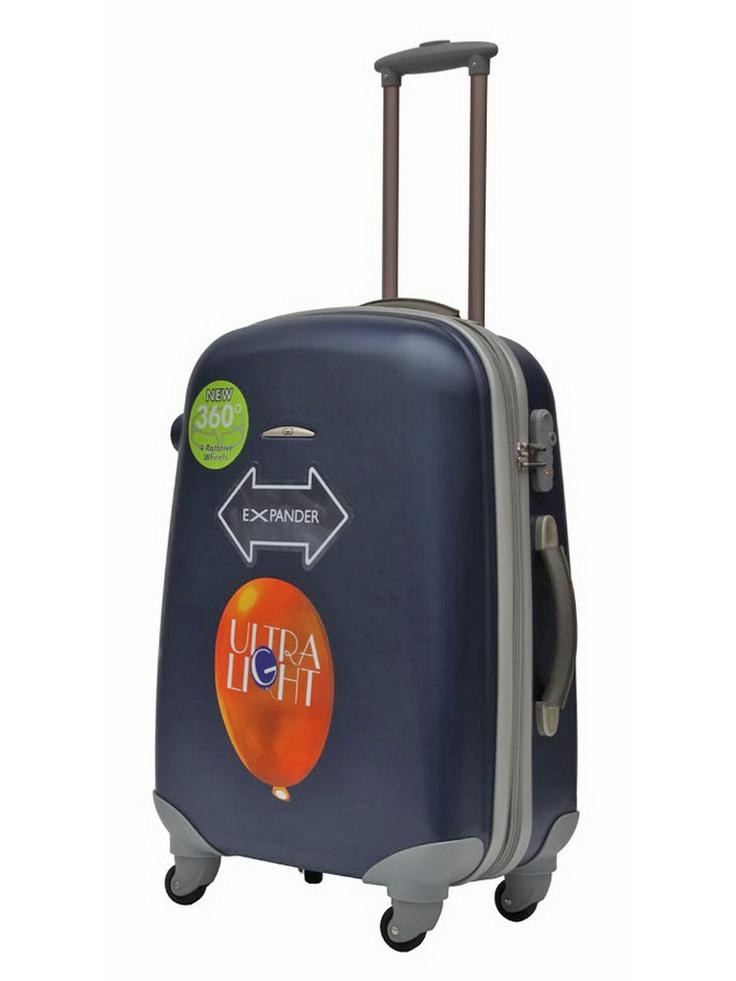 Valise trolley soute à roulettes - GILANCE - Bleu - ZT92L/63