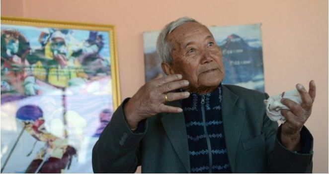 "An 85-year-old man who was attempting to reclaim his title as the world's oldest person to summit Mount Everest died at base camp today. ""He passed away at the base camp today at 5:14pm,"" Gyanendra Shrestha, an official with the tourism ministry who is at the 5,380 metres..."
