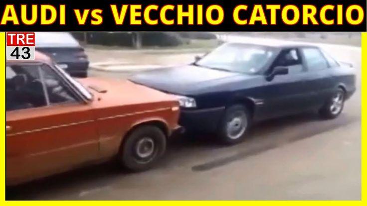 Incredibile Sfida:Audi contro Catorcio..chi vincerà?