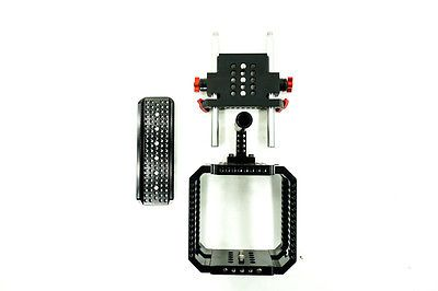 ADVANCED DOVETAIL CAGE FOR RED SCARLET & EPIC (DISPLAY ITEM) - For 15mm Rods