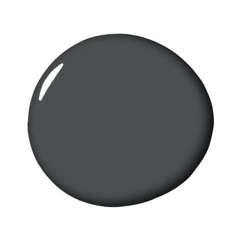 "20 Best Grey Paint Colors - Top Shades of Gray Wall Paint    IRON MOUNTAIN, BENJAMIN MOORE     Megan Tatem  ""I look for dimension within paint colors, something that shifts a little from day to night. I love the subtle depth and warm brown underpinning of this shade. This deep, dark gray is beautiful in a matte wall finish, stunning in satin for millwork, or easily pulls off sexy in a gorgeous gloss for furniture and cabinetry."" - Drew McGukin"