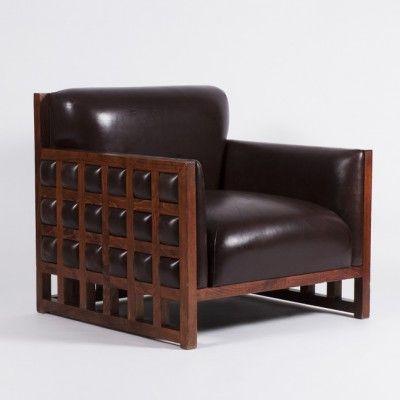 Lounge Chair by Zbyněk Hřivnáč.  Designed specifically for Hotel Praha, this item is uniquely for sale at Nanovo Shop (Tynska ulicka 8, Prague 1, Czech Republic). www.nanovo.cz/en